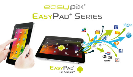 Luzern Easypix 700 Android Tablet PC